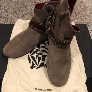 Isabel Marant Suede Largo Boot